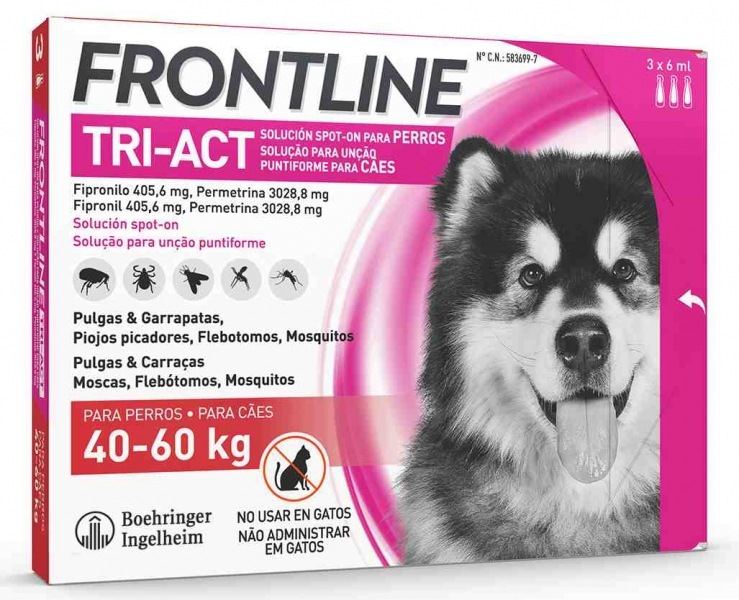 Frontline TRI-ACT 3Ppt XL 40-60Kg