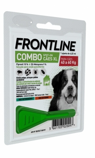 Frontline Combo XL 1Ppt +40Kg