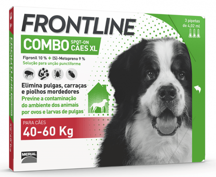 Frontline Combo XL 3ppt +40Kg