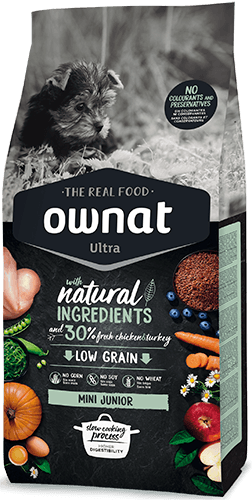 OWNAT ULTRA Mini Junior Dog 3Kg