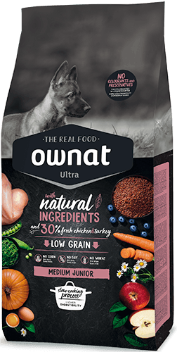 OWNAT ULTRA Medium Junior Dog 3Kg