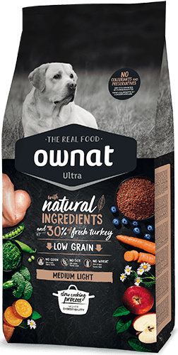 OWNAT ULTRA Medium Light Dog 14Kg