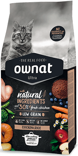 OWNAT ULTRA Chicken&Rice Cat 1,5Kg