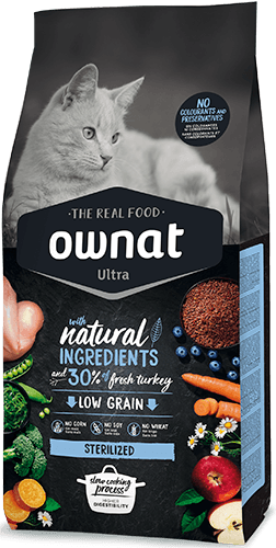 OWNAT ULTRA Sterilized Cat 1,5Kg