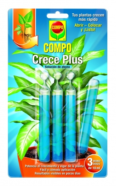 Crece Plus Pipetas 3x10ml COMPO